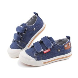 kids jeans shoes NZ - Kids Shoes For Girls Boys Sneakers Jeans Canvas Children Shoes Denim Running Sports Fashion Baby Sneakers Boy Jeans Shoes CX200724