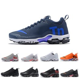 Discount spider shoes running New Tuned Mercuial TN Plus III 3 OG Ultra Mens Running Shoes Male Desig Sports Run Trainers Black White Spider Women Sne