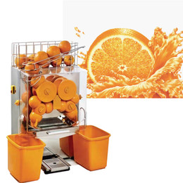 twin gear NZ - 2020 hot commercial automatic orange lemon citrus juicer stainless steel industrial squeezing automatic orange squeeze machine