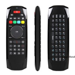 computer wireless controller NZ - 2.4Ghz RF Mini Wireless Keyboard G7 Smart Fly Air Mouse TV Remote Control For Android TV Box Projector Computer Controller