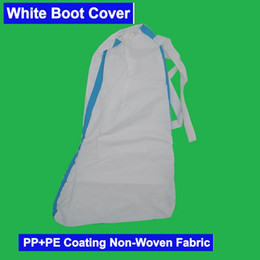 1 Day Ship PP&PE Diaposable Cover Coating Non-Woven Fabric Boot Foot Shoe Cover Headgear Isolation Isolate Cover on Sale