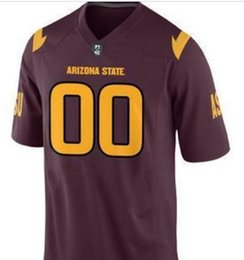 toddler jerseys UK - Men Youth,women,toddler CUSTOM Arizona State Sun Devils Personalized ANY NAME AND NUMBER ANY SIZE Stitched Top Quality College jersey