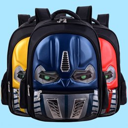 cool school bags for boys UK - YurYs Schoolbag for primary school students hard case for grade 1-3-6 car Children's waterproof 3D Bag backpack cool light backpack customiz