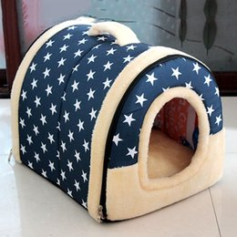 pet stores UK - K-STAR STORE Universal Pet Bed In All Seasons Removable And Washable Pet kennel Foldable Teddy Kennel And Cat