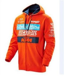 jacket motorcycle off road NZ - New KTM off-road racing suit jacket locomotive motorcycle riding suit knight casual sweater