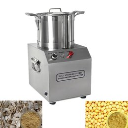 speed cutter NZ - CE 220V electric vegetable cutter 4L vegetable cutter ginger garlic chili shredder shredder high speed meatball beater