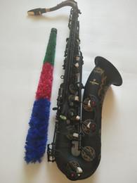 Япония Yanagisawa T-902 Тенор саксофон высококачественный матовый черный музыкальный инструмент профессиональный игровой саксер с мундштуком на Распродаже