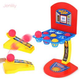 venda por atacado Crianças Mini Basketball Hoop Tiro stand jogo para a Educação a família das crianças Toy Atacado Sports 2 Player