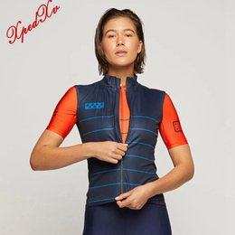womens bicycles 2020 - Women's cycling Gilets 2020 bicycle sports Windproof cycling vest The pedla and attaquer womens bike tops wear chea