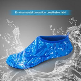 shoes for water sports NZ - Yoga Summer Water Sports Camouflage Diving Socks Swimming Snorkeling Non-slip Seaside Beach Shoes for Adult Child Beach Camping SS-14