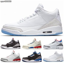 cyber shoes Australia - 2020 New Good Qaulity Jumpman 3 3s Kids basketball shoes blue Cyber Monday fire red wolf grey Black Cement wool sports sneaker