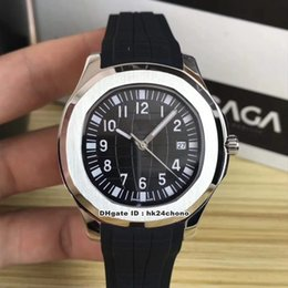 12 mens watches Australia - 12 Styles Best Aquanaut Stainless Steel Automatic Mechanical Mens Watch 5167A-001 Black Dial Rubber Strap Gents Sport Watches