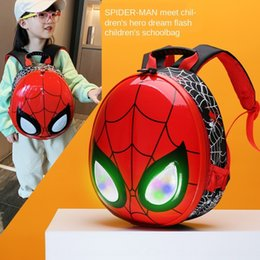cool cartoon boys NZ - 2020 new children's cartoon cute fashion cool Spider-Man bag backpack kindergarten backpack for 3-6 years old