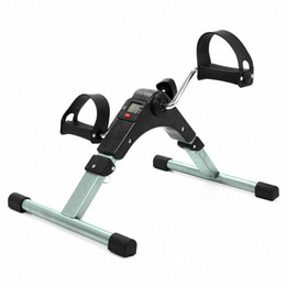 mini stepper 2020 - Mini Folding Fitness Pedal Stepper Exercise Machine LCD Display Indoor Stepper with Adjustable Resistance For Home Offic