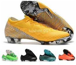 superfly boots acc UK - Ankle Football Boots Mens Mercurial Superfly VI 360 Elite Neymar FG Soccer Shoes Superfly CR7 Outdoor ACC World Cup Soccer Cleats-za87