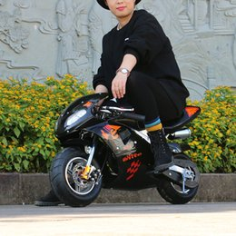2020 Mini Motorcycle Sports Car All New Style Gasoline Racing Mini Motorcycle Sports Car Electric Start 49cc