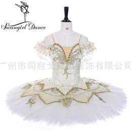 spandex ballet Australia - High quality no elasticity professional tutu women sleeping beauty classical ballerina ballet costume tutu for competition LT0007
