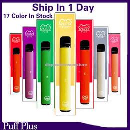 Großhandel Neueste Puff Bar Plus Einweg-Vape 80 Farben 550mAh Batterie 3.2ml Box Vape vs Puff Bars
