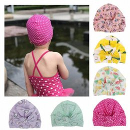 cotton baby girl bonnets NZ - Lovely Winter Solid Color Thick Newborn Hat Boys Girl Cotton Soft Big Bow Turban Bonnet Caps Solids Baby Shower Props saHY#