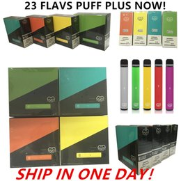 colors e cigs NZ - Newest 23 colors PUFF BAR PLUS 800+Puffs Disposable Vape Pen 550mAh Battery 3.2ml Pods Cartridges Pre-Filled e Cigs Limited Version