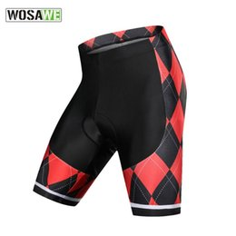 motorcycle men tights UK - WOSAWE Gel Padded Anti Slip Motorbike Cycling Shorts Men Downhill Road Bike Motorcycle Shorts Motocross Bicycle Tights