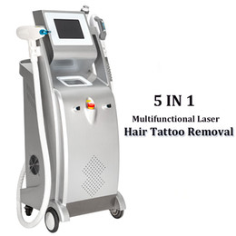 Multifunktional CLicht OPT SHR IPL Haarentfernung Maschine IPL wrinke Entfernung Hautverjüngung 3000W Elight RF Nd Yag Laser Schönheit Maschine im Angebot