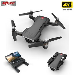 mjx motor UK - Professional GPS 4K HD Camera Drones MJX Bugs B7 With Wifi FPV Brushless Motor Helicopter Gesture Control Foldable Helicopter