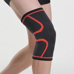 elastic knee sleeve support UK - 1 Pcs Knee Support Braces Elastic Nylon Sport Compression Cycling For Fitness Running Sleeve Basketball Knee Volleyball Pad W9W3 xav3#