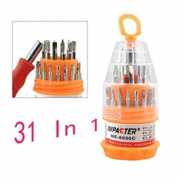 tools computer kit Canada - 31 In 1 Screwdriver Precision Kit Magnetic Repair Tool Set Screwdriver Bit Set For Computer Cell Phone Watch Laptop Repair Tool gqzZ#