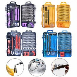 watch precision screwdriver kit NZ - Screwdriver Kit Precision Screwdriver Set 115 In 1 Repair Tools With Carry Case For Laptops Phone Watch YZIn#