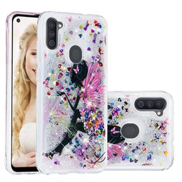 case samsung owl UK - Liquid Soft TPU Case For Huawei P40 Pro P30 Lite Y5P Y6P Y7P 2020 Butterfly Sexy Girl Owl Quicksand Bling Glitter Fashion Unicorn Cover