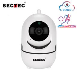 camera security wireless Canada - Sectec Wifi Camera HD 1080P Cloud Wireless IP Camera Intelligent Auto Tracking Of Human Home Security Surveillance CCTV Network