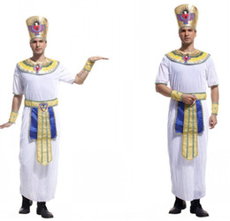 egyptian clothing Australia - dCflF Halloween cosplay Egyptian pharaoh M-0024 adult clothing king Prince Halloween cosplay Egyptian pharaoh M-0024 adult clothing king cos