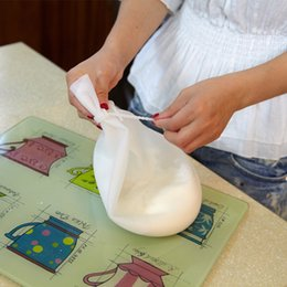 hand tie bags UK - Flour Bag DIY Silicone Baking Knead the flour bag with tie Pastry Tools Nonstick hand Flour Cover Freshness protection package Free Shipping