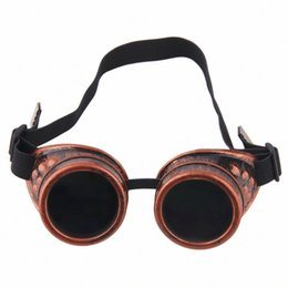 steampunk gears wholesale NZ - Cyber Cycling Protective Gear Cycling Goggles Steampunk Glasses Vintage Retro Welding Punk Gothic Sunglasses Cosplay Stylish Steampunk FUpq#