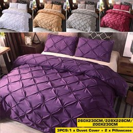 double sheet size UK - NEW Bedding Set of Duvet Cover Bed Sheet Pillowcases Single Double Full Queen King Size Duvet Cover Bed Sheet Sets Set
