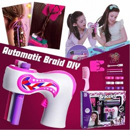 hair weave hairstyles NZ - Electric Automatic Hair Braider DIY Stylish Braiding Hairstyle Tool Twist Braider Machine Hair Braid Weave Roller Twist For Girl ldCL#