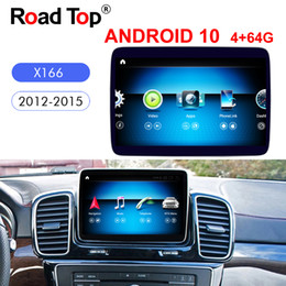 Android 10'' Qualcomm 9 inch Display for Benz ML GL Car X166 2012-2015 Command System Upgrade Screen on Sale