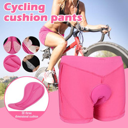 pink products Australia - Bicycle Cycling Comfortable Biker Shorts For Women Unisex Bicycle Products Comfortable Sponge Padded Bike Short Pants