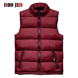 Wholesale big men casual vests jackets for sale - Group buy Mens Jacket Sleeveless Vest Winter Fashion Casual Slim Coats Brand Clothing Cotton Padded Men s Vests Men Waistcoat Big Size XL