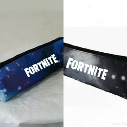 Wholesale battle dress for sale - Group buy Fortnite battle royale game fortress night student zipper night Starry Sky Pencil Case wallet pencil wallet case