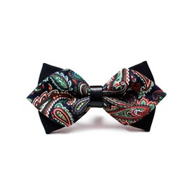 wedding bow ties for men Canada - Fashion Bow tie For Men Newest Men's Accessories Luxurious Bow Tie Black Cravat Formal Commercial Suit Wedding Ceremony Ties