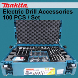 Japan Metal Woodworking Drill Bits Screwdriver Head Cylinder Toolbox Electric Drill Accessories 100PCS set LLy1# on Sale