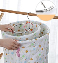 adjustable hangers racks UK - Spiral Hanger Drying Quilt Rack Bed Sheet Hanger Rotating Quilt Storage Blanket Rack Outside Indoor Balcony Space Saving Round Rack