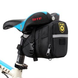 bicycle seat cushions Canada - trunk mountain bike bicycle accessories cushion seat riding equipment bicycle accessories saddle bag folding trunk bag