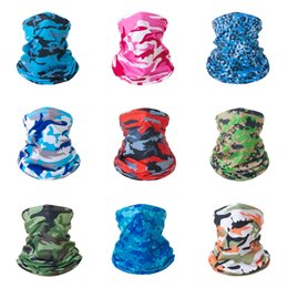 running hats for men UK - Quick Dry Cycling Cap Pirate Hat Camouflage Digital Head Scarf Helmet Summer Men Women Hood Headband For Cycling Running#940