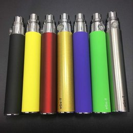 ego e cig clearomizer NZ - EGO 510 thread Battery for Electronic Cigarette E-cig Ego-T 510 Thread match CE4 atomizer CE5 clearomizer CE6 650mah 900mah 1100mah 9 Colors