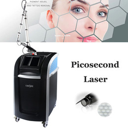 Wholesale Professional Cynosure Picosecond Laser Machine 755nm Focus Lens Array Pico Laser Tattoo Removal Freckle Spot Pigmentation Treatment Machines