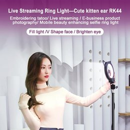 light up plugs Canada - Hot LED Studio Camera Ring Light TikTok youtube Photography 5 inch Photo Camera Ring Light With Tripod USB Plug For Phone Holder Make Up