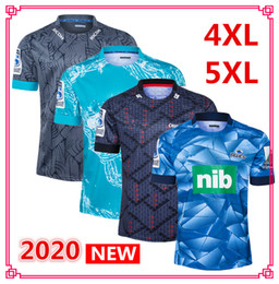 rugby big NZ - 2020 Super Rugby Jersey blues Crusaders blues Hurricanes Highlanders home away Rugby Jerseys shirt big size s-5xl EMS free shipping